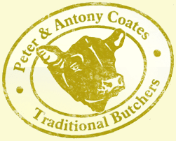 Peter and Antony Coates Traditional Butchers.